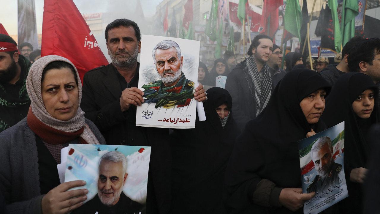 Kásem Solejmání Írán Blízký východ