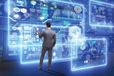 ICT, nové technologie, trendy, ilustrace