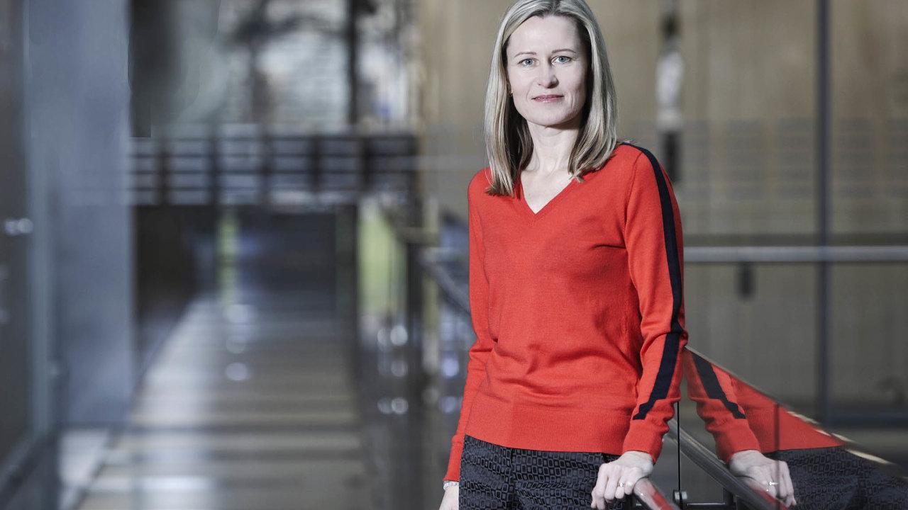 Obchodní ředitelka pro letenky firmy Student Agency Věra Janičinová