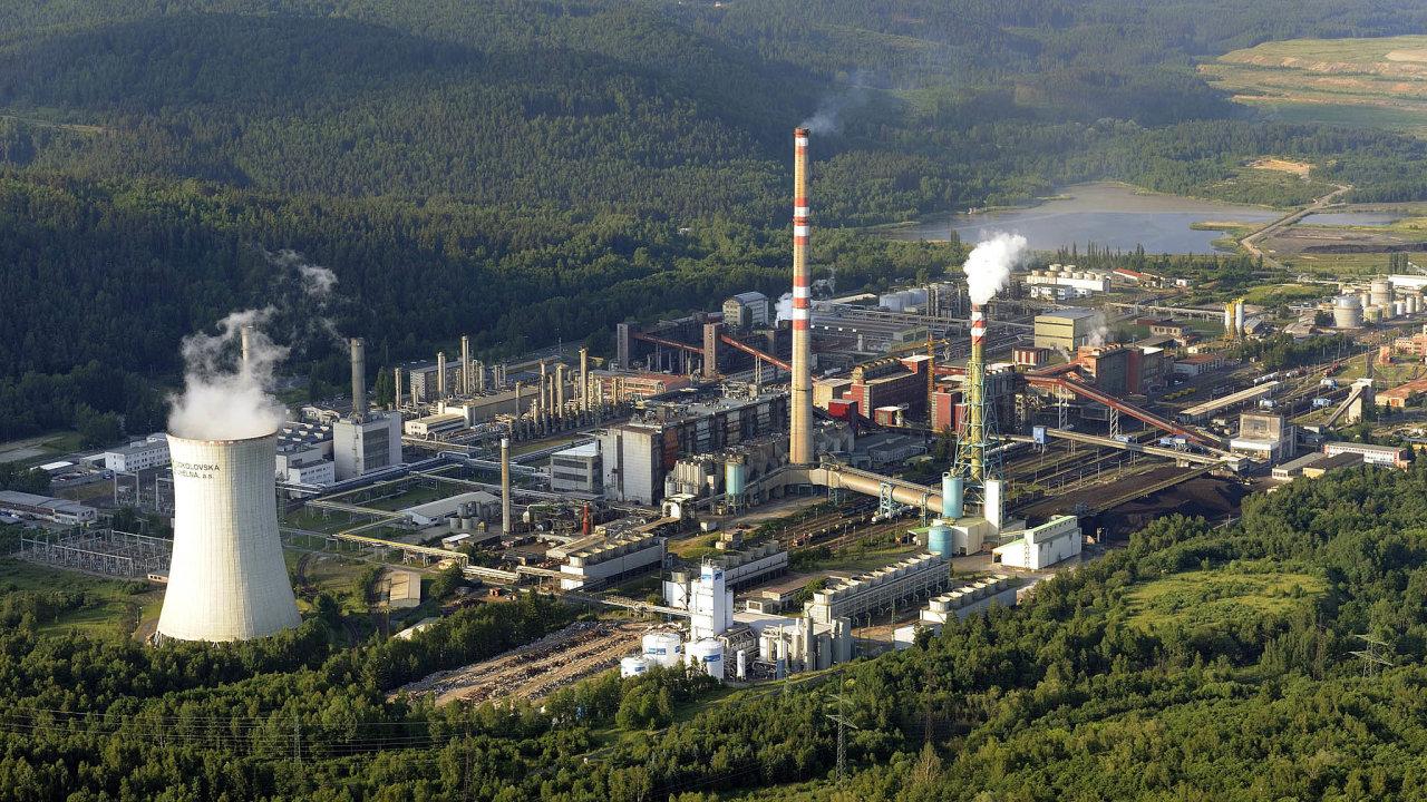 Tlaková plynárna, jejíž provoz Sokolovská uhelná ukončí, je součástí paroplynové elektrárny Vřesová.
