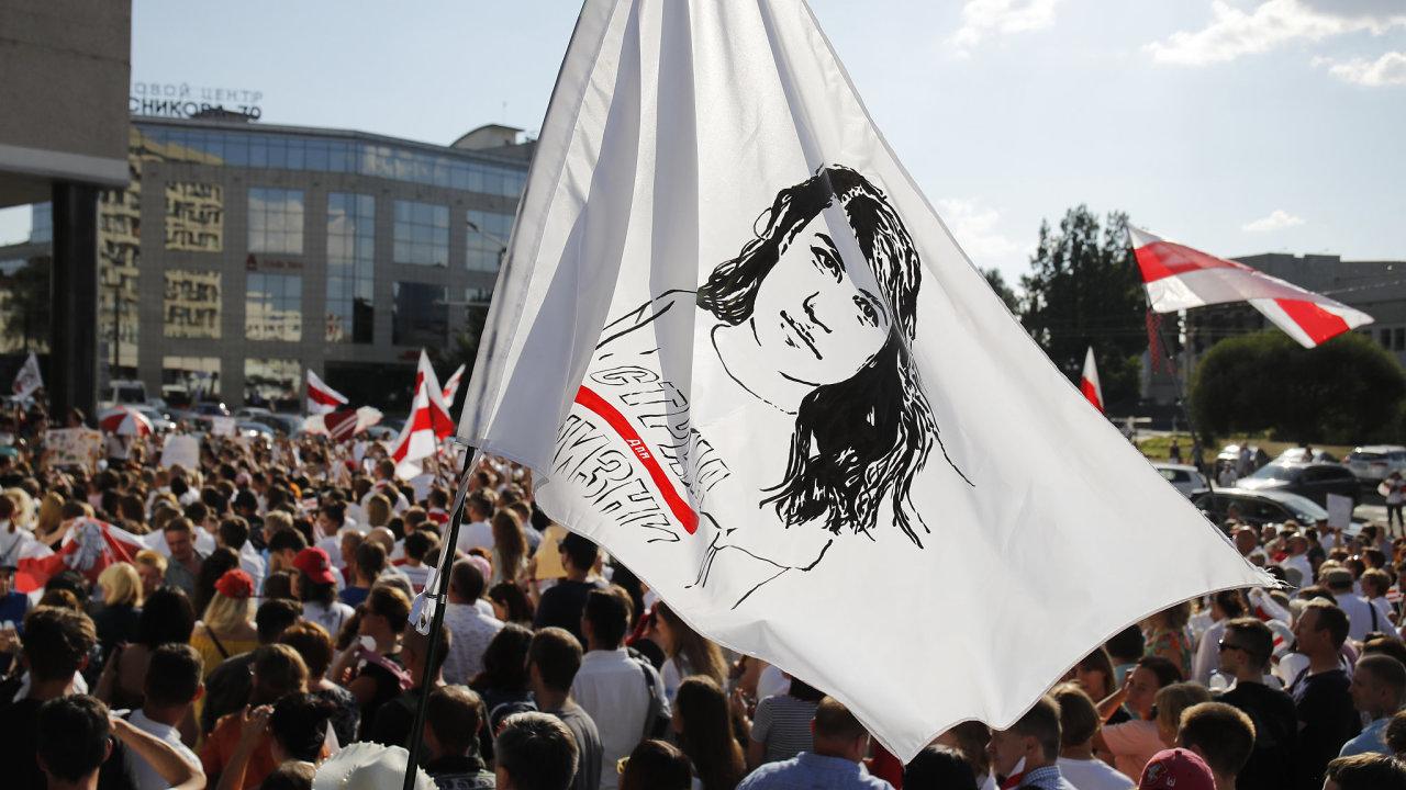 Bělorusko Minsk protesty