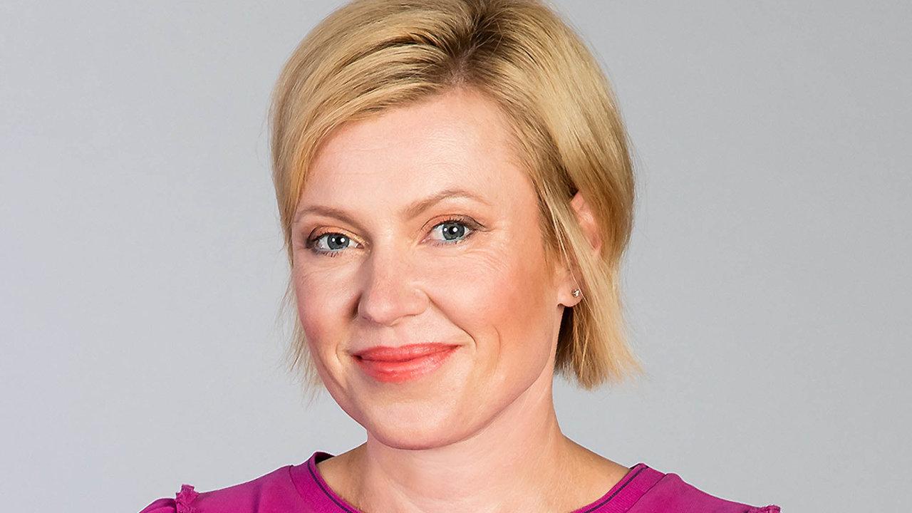 Zuzana Filipová, ředitelka komunikace aCSR společnosti Moneta Money Bank