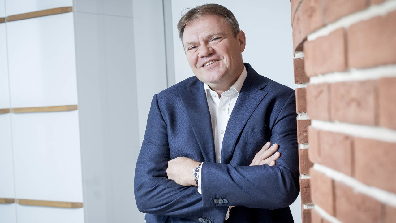 Jaroslav Besperát, generální ředitel České podnikatelské pojišťovny.
