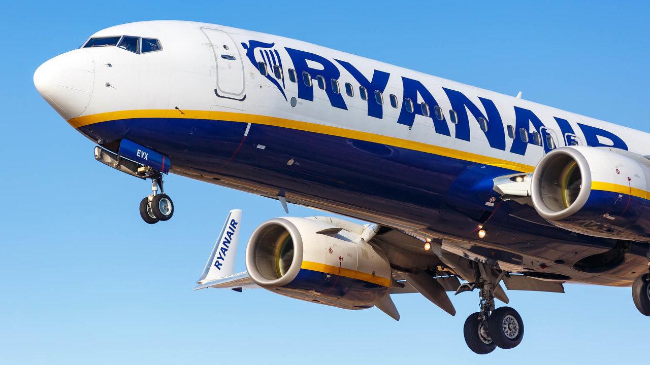 Aerolinky Ryanair Holdings očekávají rekordní ztrátu.