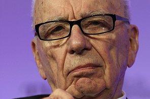 Červen 2011 - Mediální magnát Rupert Murdoch v Londýně.