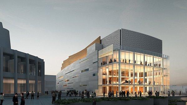 Nová budova symfonického orchestru v Montrealu