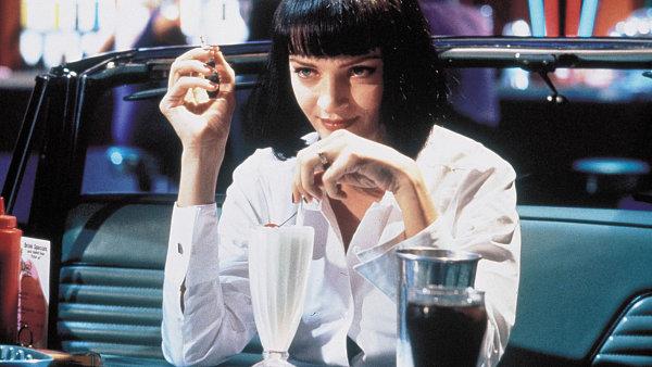 Hlavní představitelka filmu Pulp Fiction Uma Thurmanová