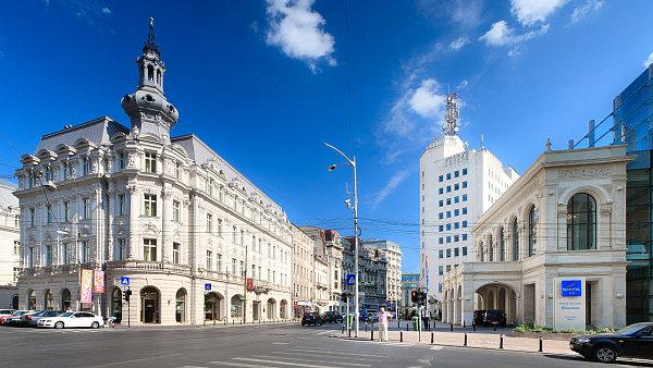 Bukurešť, Hotel Continental - Calea Victoriei, Rumunsko