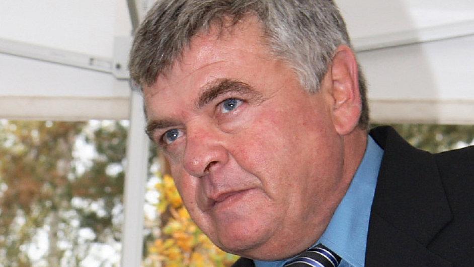Josef Krýsl, šéf stavební firmy Bögl a Krýsl