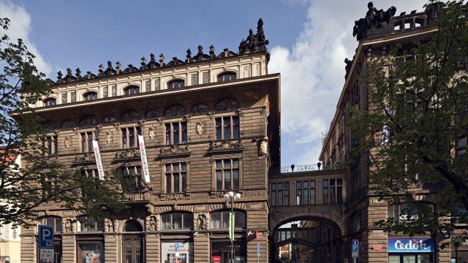 Budova Živnostenské banky v Praze.