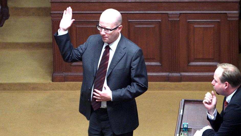 Sněmovna hlasuje o rozpočtu.