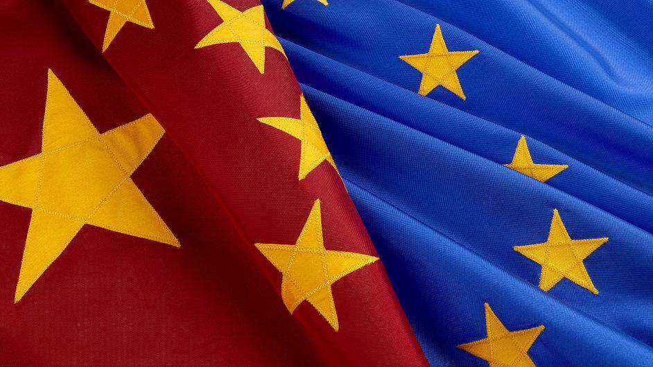 Export Číny do EU slábne. Ilustrační foto