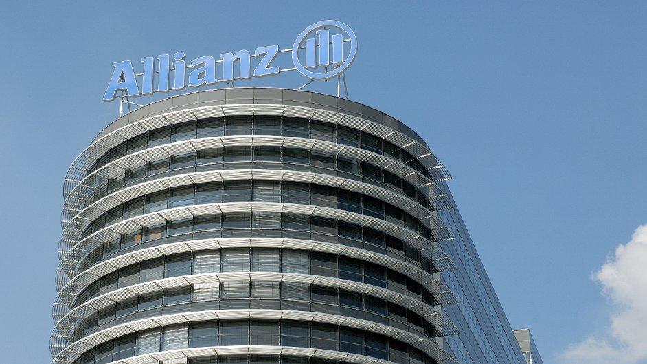 Allianz budova v Praze CR