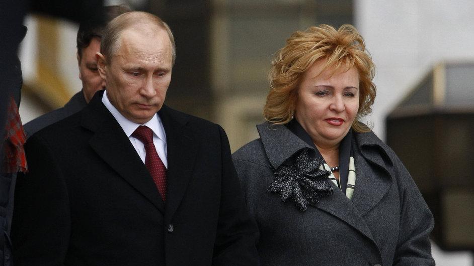 Vladimir Putin a Ljudmila Putinová