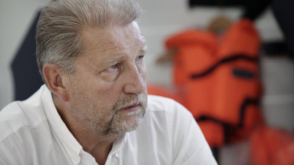 Jiří Belinger, šéf firmy Vari