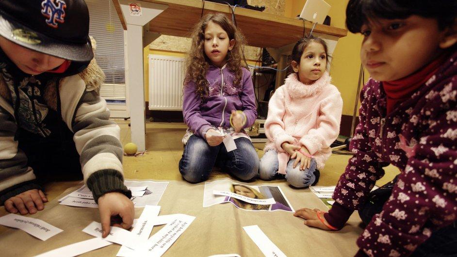 Problémy s distanční výukou mají většinou děti ze sociálně vyloučených či romských rodin. Ilustrační foto