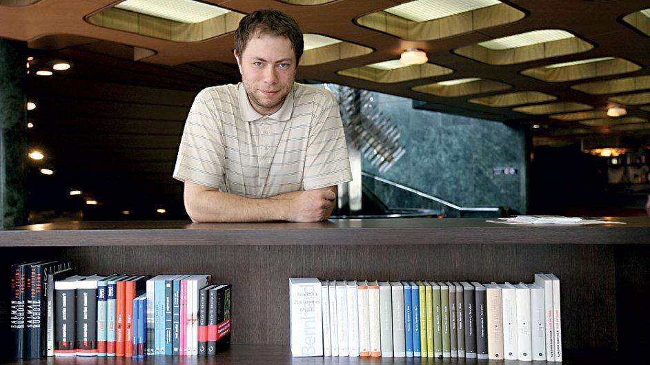 Na archivním snímku je předseda občanského sdružení Litera Pavel Mandys.