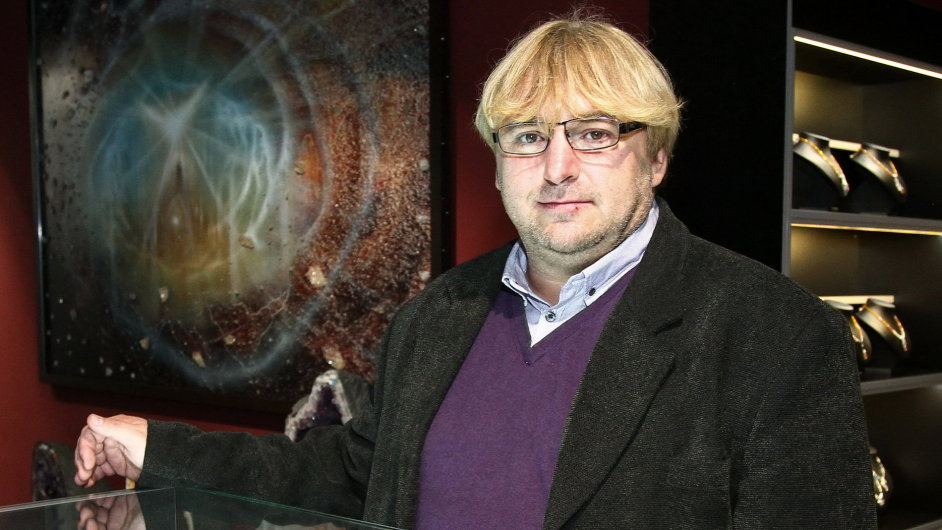 Ředitel společnosti Mineralia Česká republika Marian Gajda.