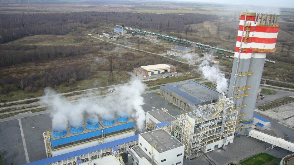 Závod na zpracování močoviny v Novodomovsku, na jehož stavbě se Chemoproject podílel.