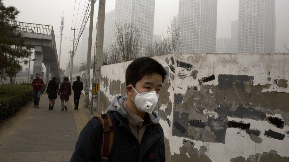 Čínská metropole Peking