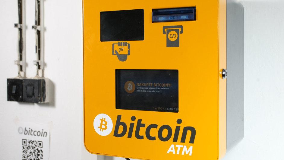 Bitcoinový bankomat od české firmy General Bytes