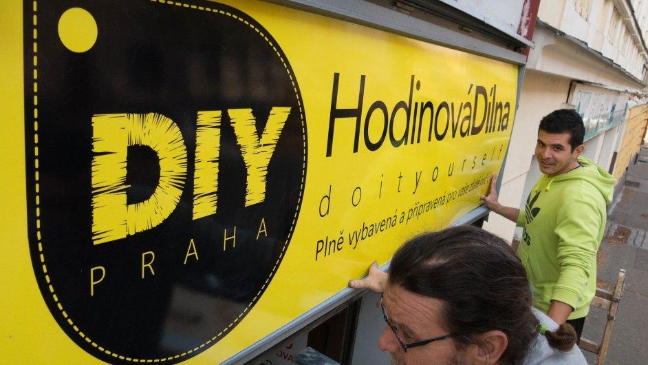 Hodinová dílna DIY Praha je pro všechny, kteří v centru města nemají místo a nástroje k práci.