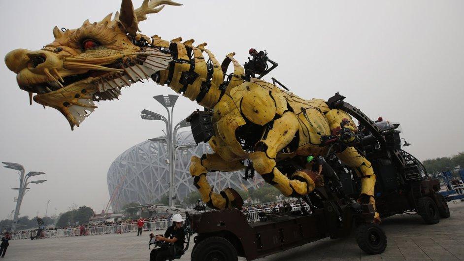 Zkoušky na kulturní oslavy Číny a Francie v Pekingu