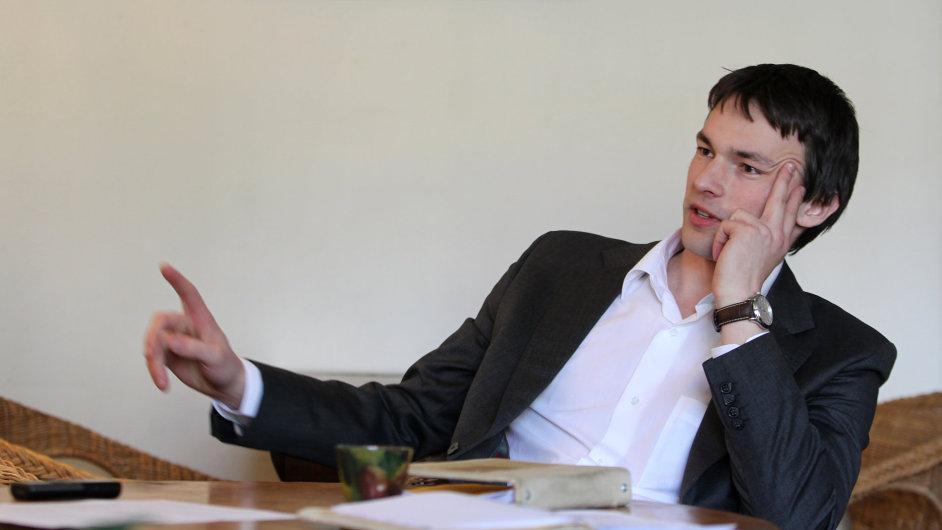 Jakub Mahdal, spoluzakladatel a šéf firmy Safetica Technologies