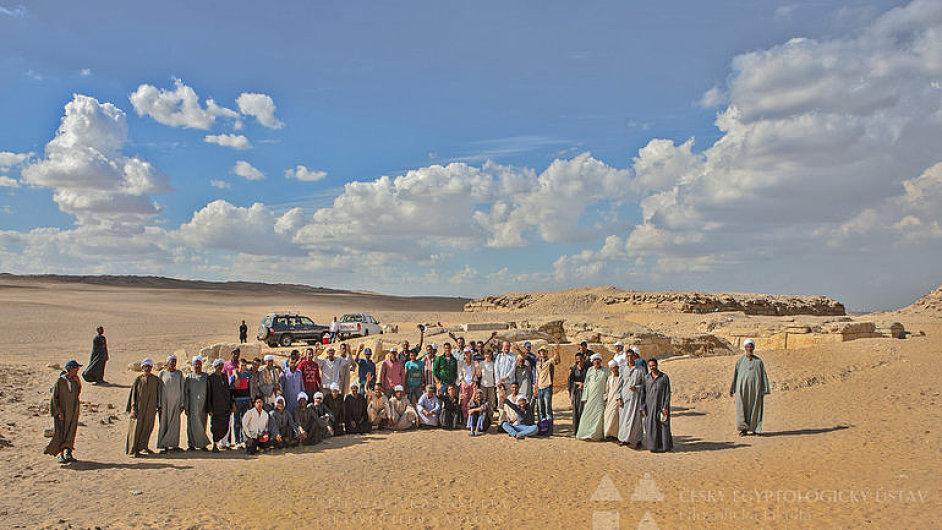 Čeští archeologové objevili hrobku neznámé egyptské královny
