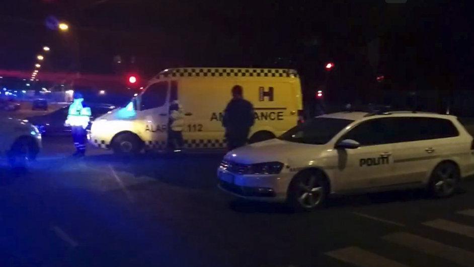 Policie zajišťuje oblast, poblíž které byl zastřelen pachatel útoků na civilisty.