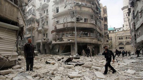 Z Aleppa zbyly jen ruiny.
