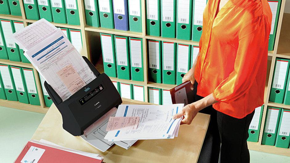 Digitalizace a správa dokumentů