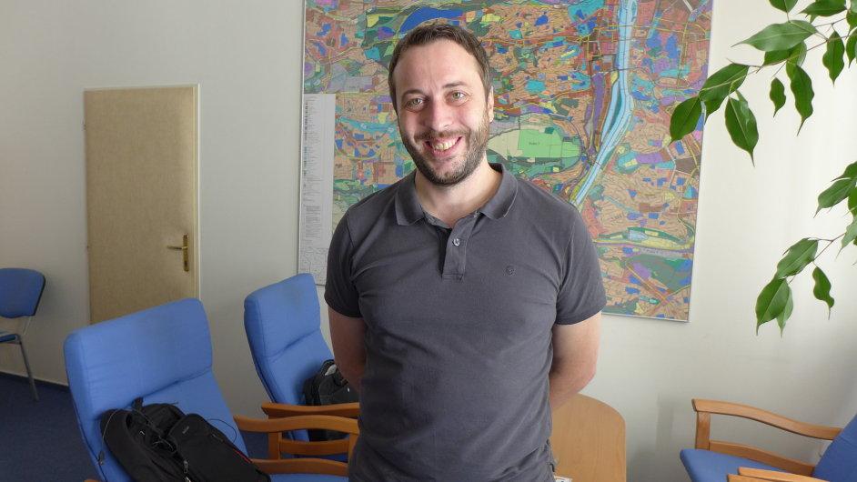 Lukáš Budín, bývalý místostarosta za Prahu 5