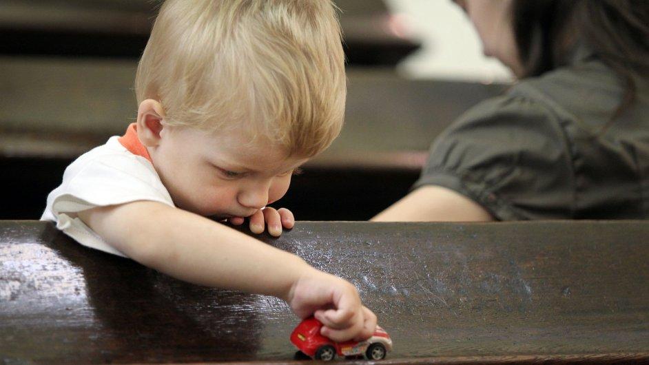 Dítě, ilustrační foto