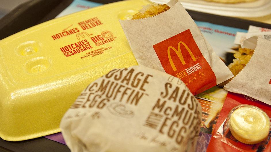 McDonald's vyslyšel své americké zákazníky. Začal prodávat snídaně po celý den - Ilustrační foto.