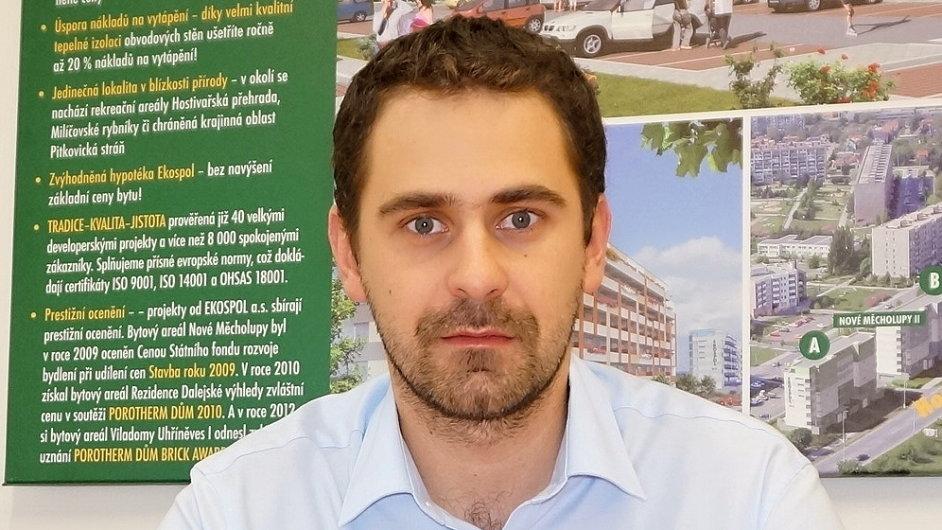 Petr Valeš, ředitel sektoru výstavby společnosti EKOSPOL