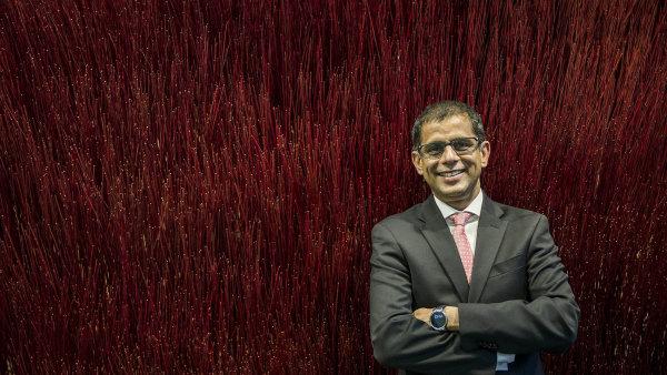 Balesh Sharma přišel do Prahy z Vodafonu na Maltě, kde působil v roli výkonného ředitele (CEO).