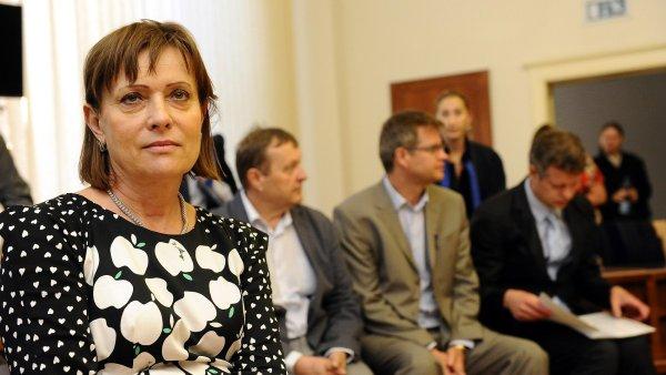 Šéfka ERÚ Alena Vitásková.