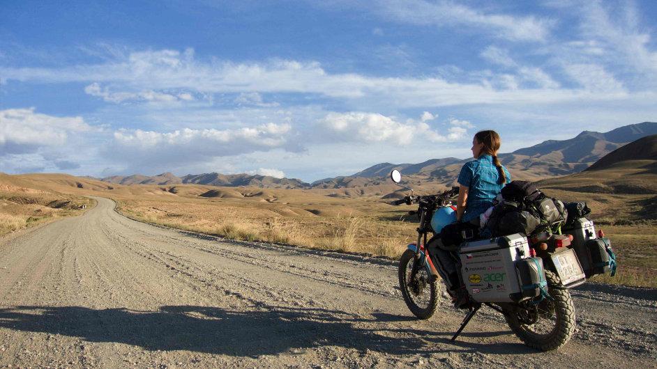 Dominika Gawliczková na své první cestě za hranice Evropy.