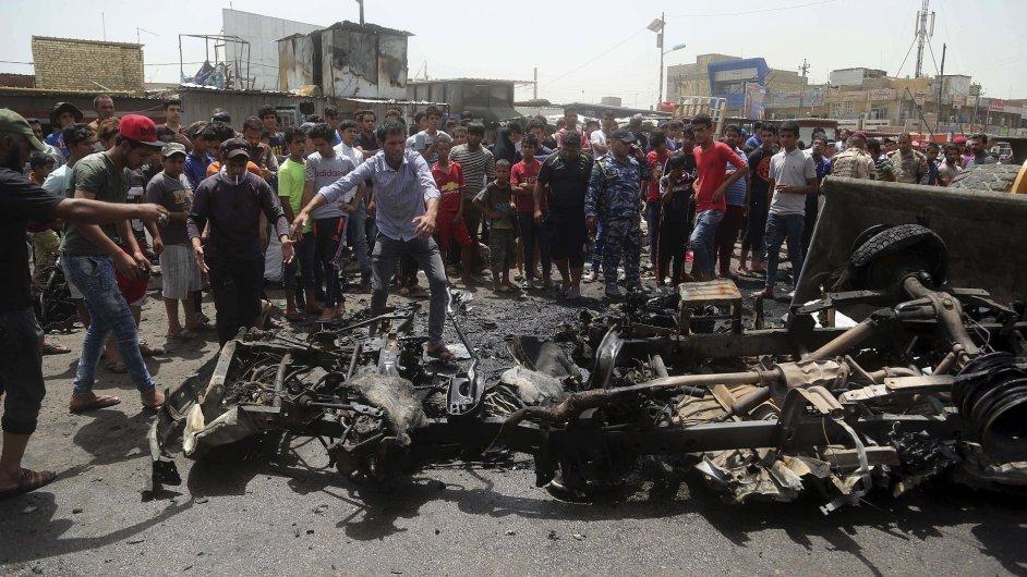 bagdád, irák, iraq, atentát