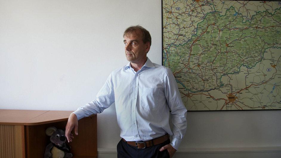Jiří Katolický, ředitel české aslovenské pobočky mezinárodního řetězce autopůjčoven Hertz.