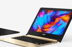 Test: Acer Swift 7 je nejtenčí notebook na světě, přesto nabízí slušný výkon i výdrž baterie