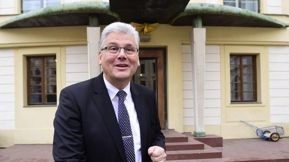 Kandidát na ministra zdravotnictví Miloslav Ludvík.