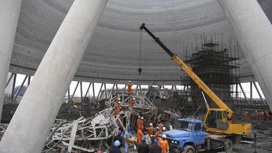 Tepelná elektrárna v centrální části Číny