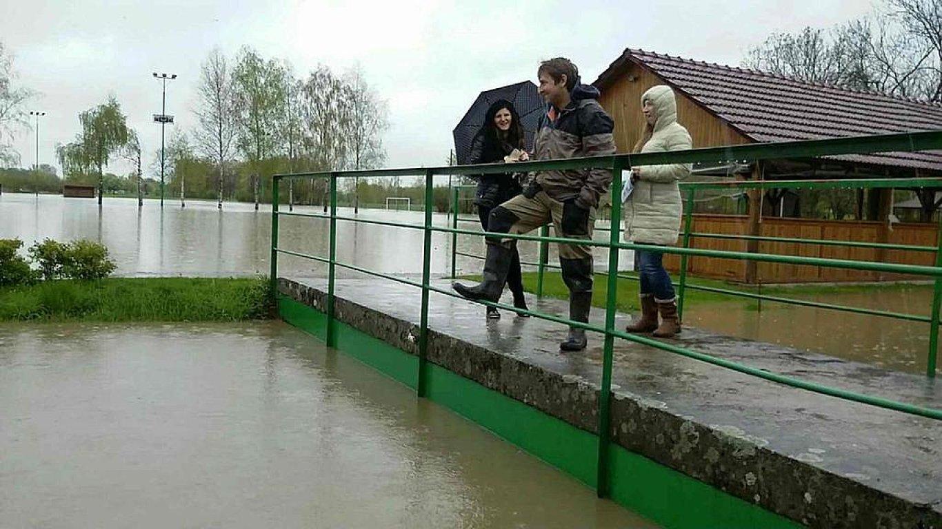 povodně, Olomouc,