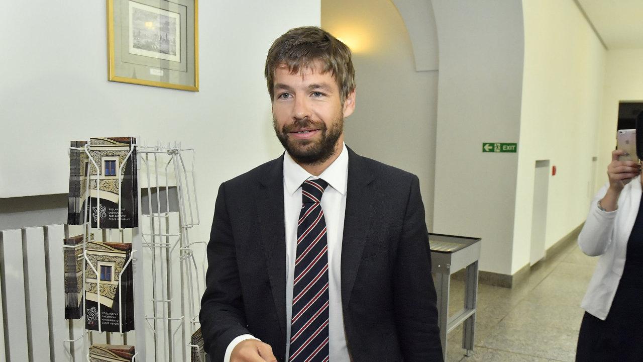 Ministr spravedlnosti Robert Pelikán (hnutí ANO).