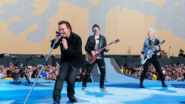 Letošní koncert U2 v Londýně zachytil fotograf Hospodářských novin Lukáš Bíba.