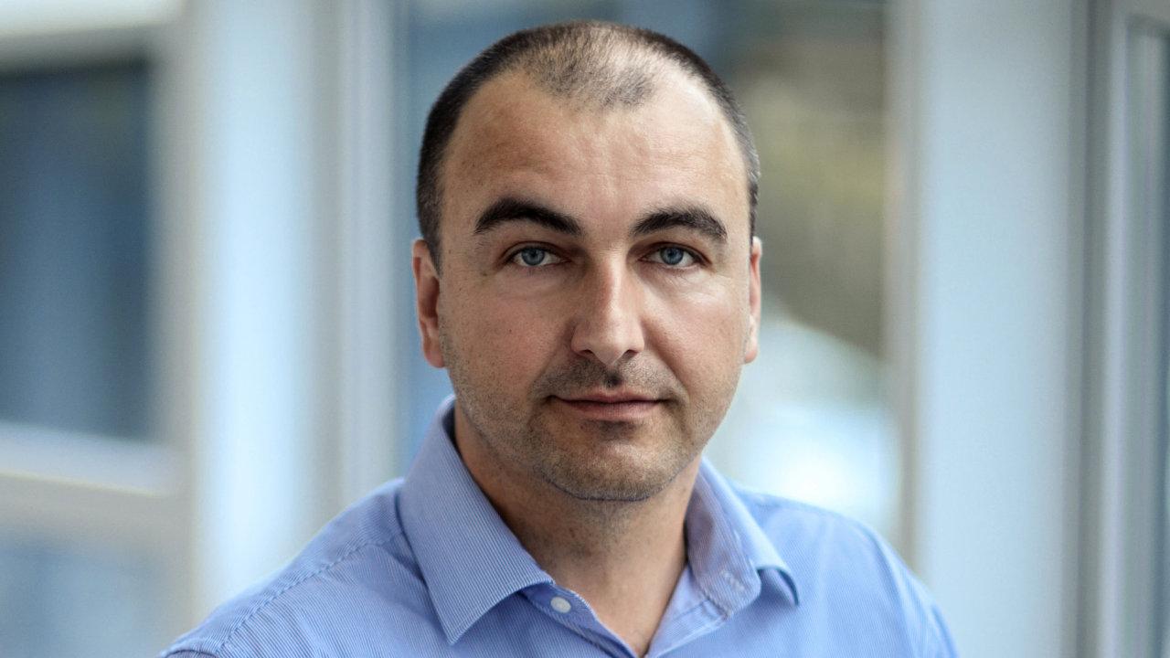 Jiří Panec, ředitel pražské divize společnosti Vision