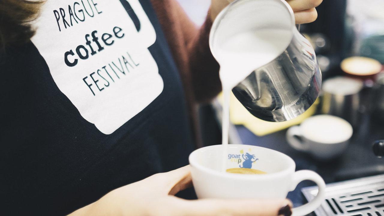 Prague Coffee festival 2017 se uskuteční 14. a 15. října v Kampusu Hybernská.