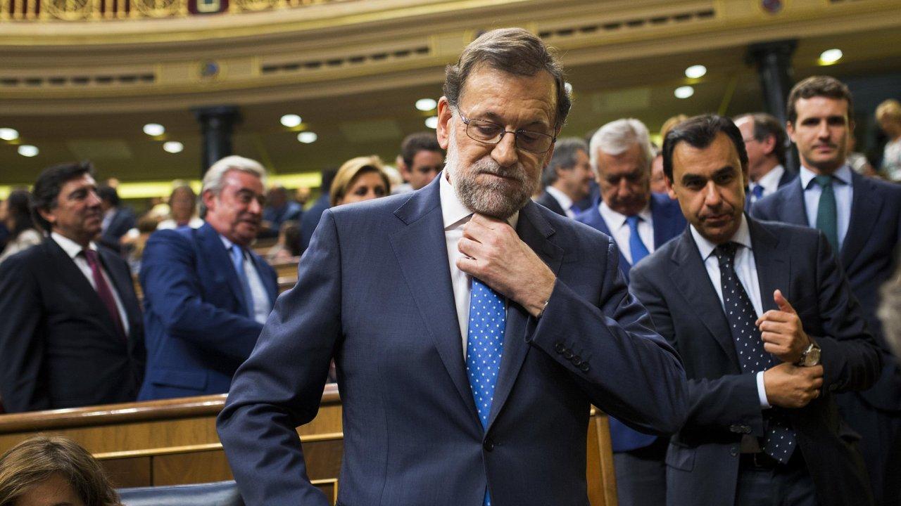 Španělský předseda vlády Mariano Rajoy.